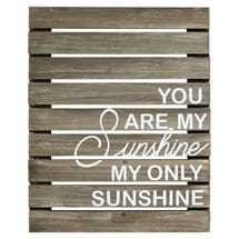 You Are My Sunshine Wall Décor