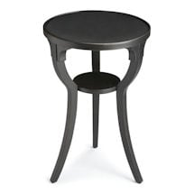 Black Licorice Accent Table