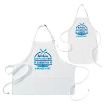 """Personalized """"Kitchen Superstar"""" Mommy and Me Apron Set"""