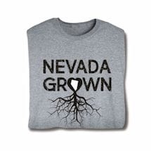 """""""Homegrown"""" T-Shirt - Choose Your State - Nevada"""