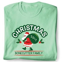 Personalized Vintage Santa Christmas Shirt