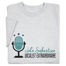 """Personalized """"Your Name"""" Vocalist Extraordianaire"""