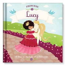 "Personalized ""A Day in the Life"" Princess Children's Book"