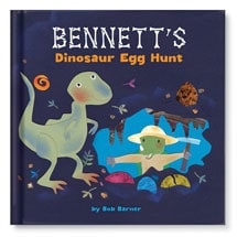 Personalized Dinosaur Egg Hunt Children's Storybook