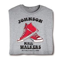 "Personalized ""Your Name"" Mall Walkers Tee"