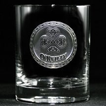 Personalized Irish Pride Whiskey Glass