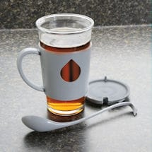 Swan Mug and Spoon