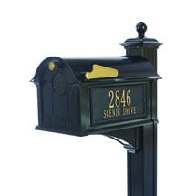 Whitehall Balmoral Mailbox and Post Package