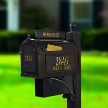 Whitehall Ultimate Capitol Mailbox and Post Package