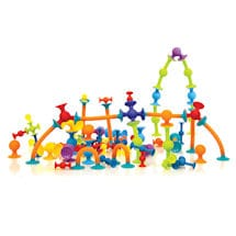 Squigz 75 Piece Jumbo Set with Storage bag
