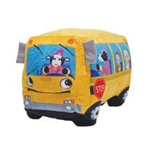Wheelie Singing School Bus Plush