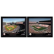 Official Personalized Pro Stadium Prints - College Framed