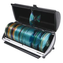 Discgear 100 CD or DVD Media Storage Disc Selector and Organizer