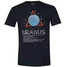 Planet Uranus T-Shirt with Scientific Facts