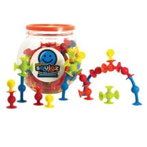 Fat Brain Toys Mini Squigz 75-Piece Set