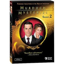 Murdoch Mysteries: Season 2 DVD & Blu-ray