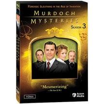 Murdoch Mysteries: Season 3 DVD & Blu-ray