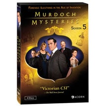 Murdoch Mysteries: Season 5 DVD & Blu-ray