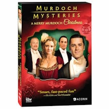 Murdoch Mysteries: A Merry Murdoch Christmas DVD and Blu-ray