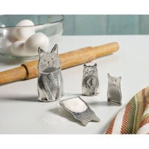 Pewter Cat Family