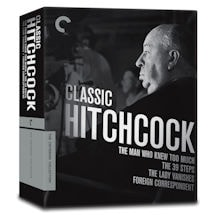 Classic Hitchcock Collection Blu-ray
