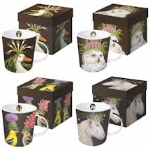 Wild & Wooly Mugs Set of 4