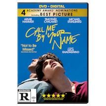 Call Me By Your Name DVD & Blu-ray