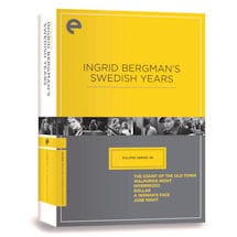 Ingrid Bergman's Swedish Years DVD
