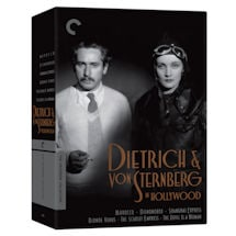 Criterion Collection: Dietrich & von Sternberg in Hollywood
