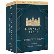 Downton Abbey: The Complete Series plus The Movie Boxed DVD Set