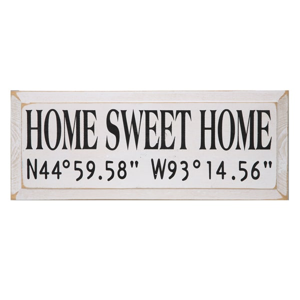 Home Sweet Home Sign at Signals | HL4192