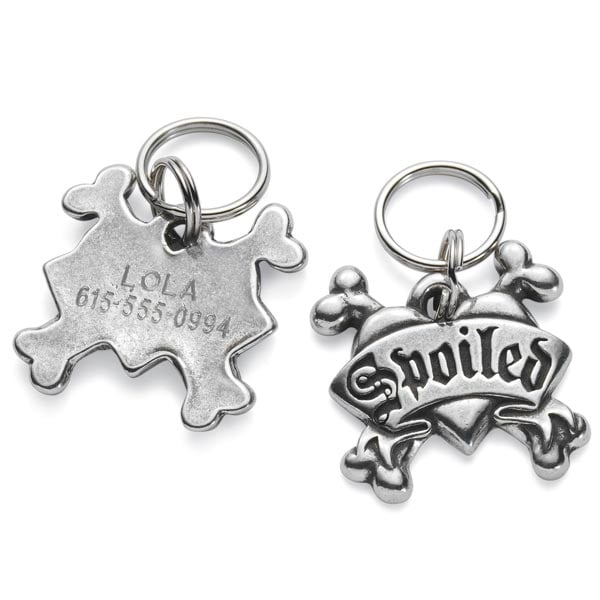 Personalized Pet Tags Spoiled