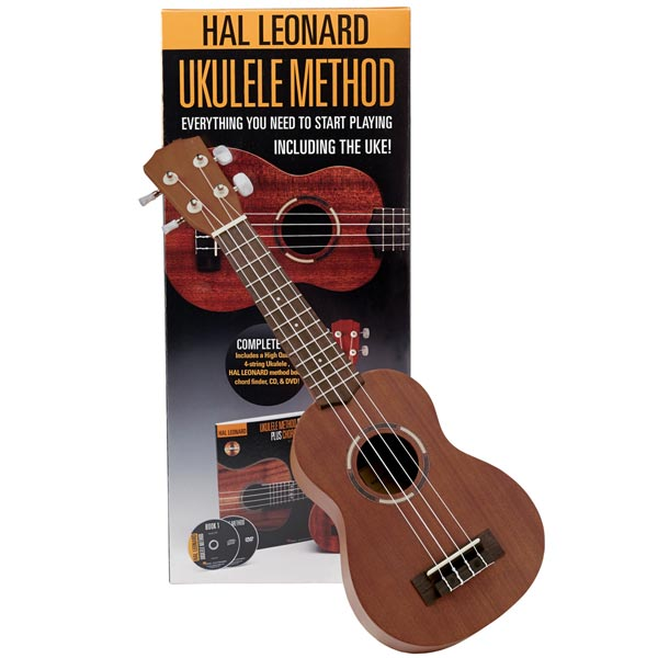 Hal Leonard Ukulele Method Kit With Cd Dvd 10 Reviews 46