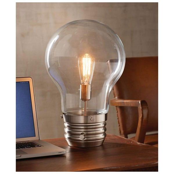 edison bulb desk lamp at signals hr9382. Black Bedroom Furniture Sets. Home Design Ideas
