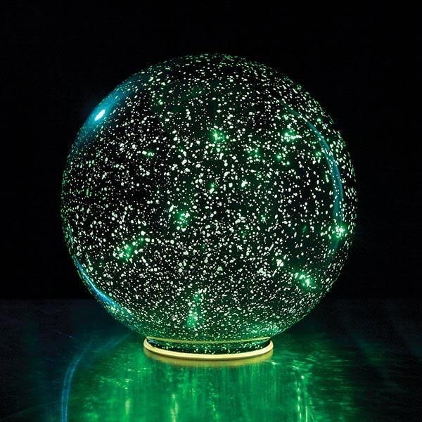 lighted green crystal ball 11 reviews 4 64 stars signals hr9896
