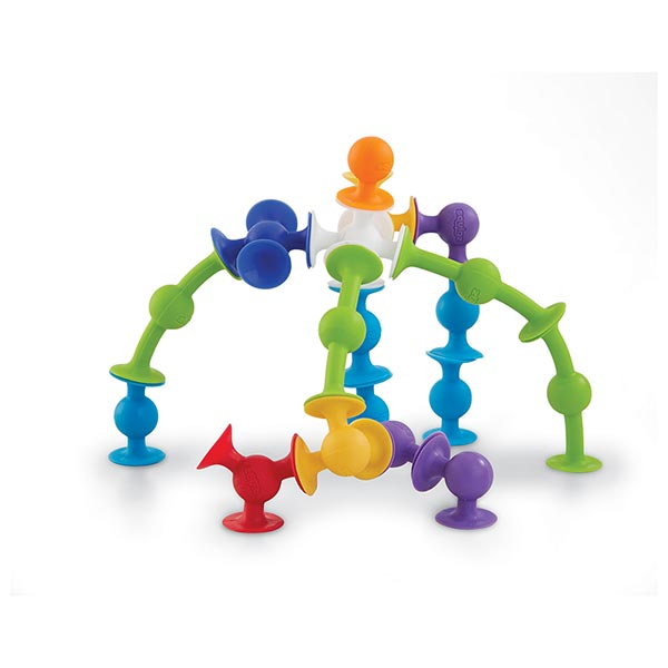 Squigz Starter 24 Piece Set Kids Fat Brain Toy Co Creativity Fine Motor Skills