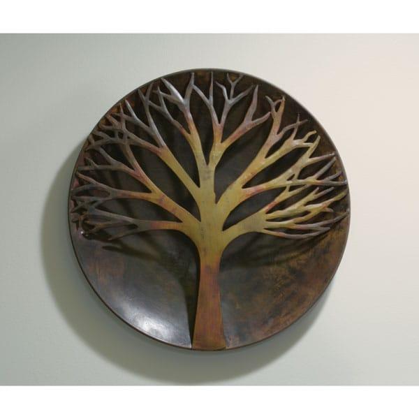 Flamed Copper Tree Wall Art - 12\