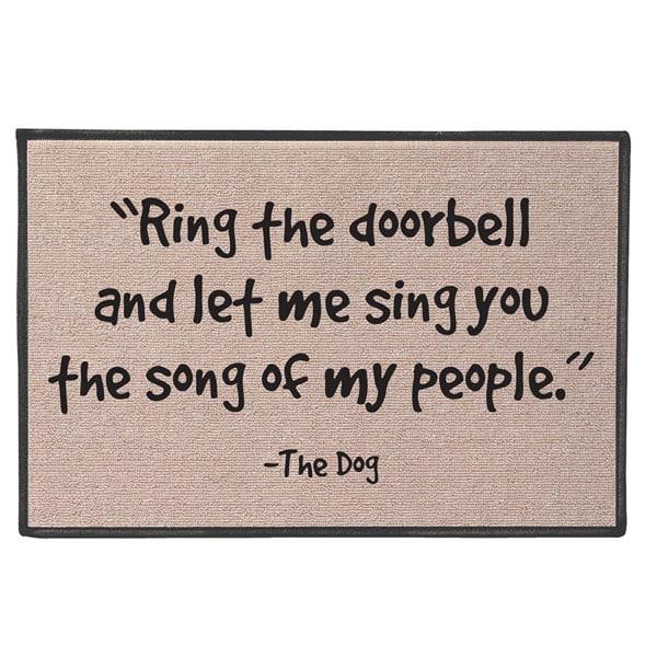 The Song Of My People Doormat