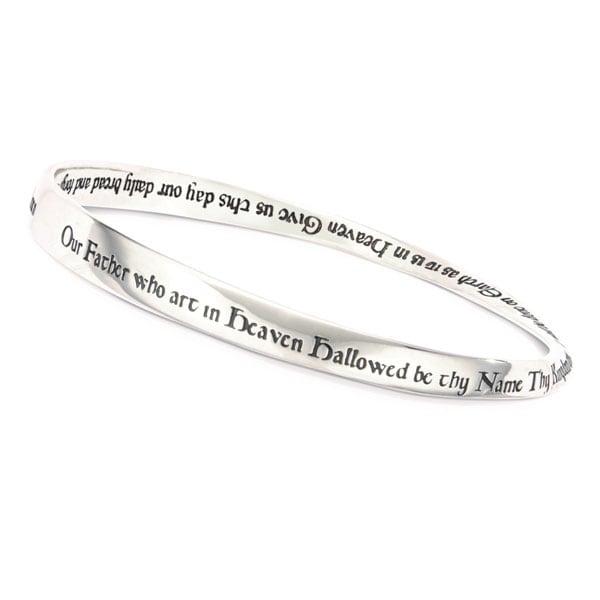 Lord S Prayer Mobius Bracelet