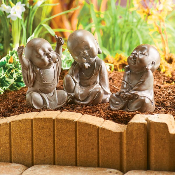 Three Sleepy Buddhas