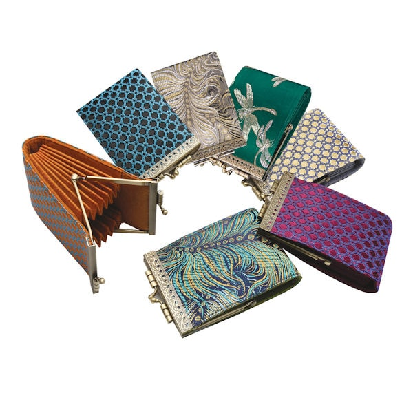 French Ten Slot Accordion Style Credit Card Wallet 26 Reviews