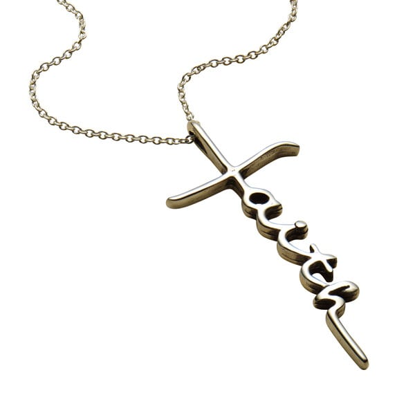 shane thumbnail mens tap black necklace silver p cross zoom to rhodium sterling necklaces co in