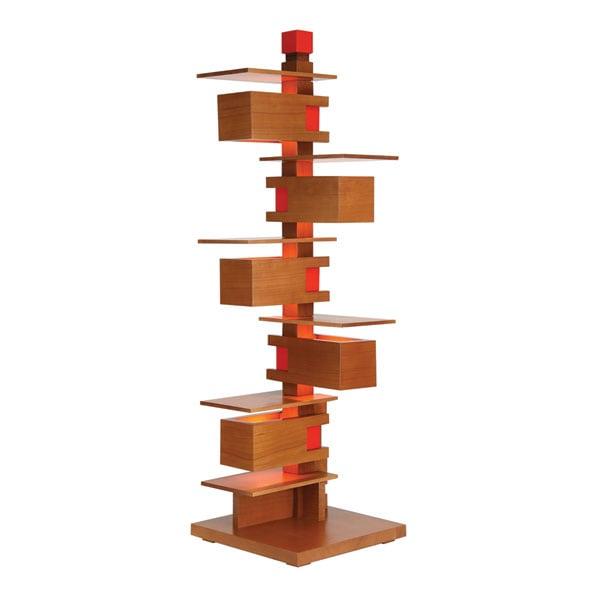 Frank Lloyd Wright Taliesin 3 Table Lamp In Cherry Or Walnut