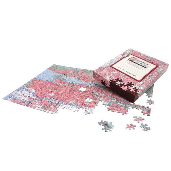 Personalized Hometown Jigsaw Puzzle Canadian Edition at Signals