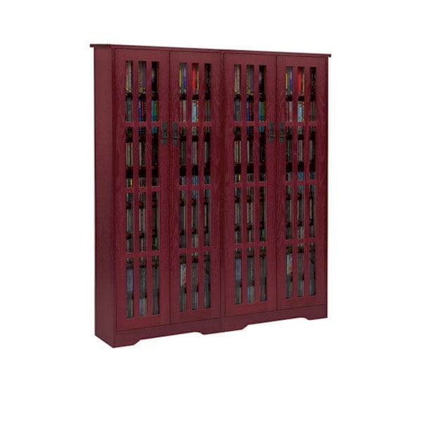 Mission Style Media Storage Cabinets 4 Door Signals Hw3102