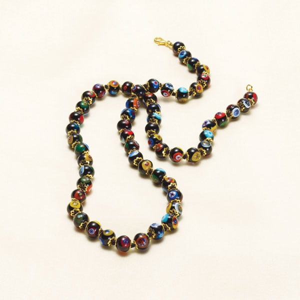 Murano Glass Beads Necklace 4 Reviews 45 Stars Signals Hw3682