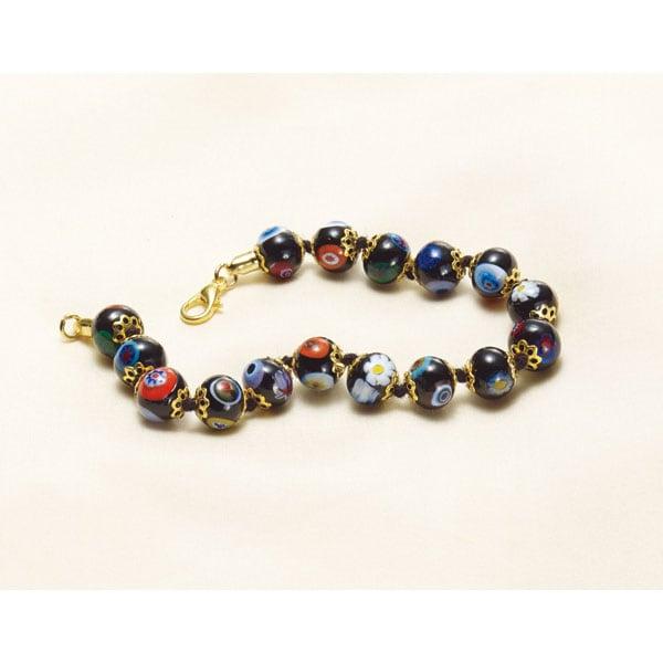 Murano Gl Beads Bracelet