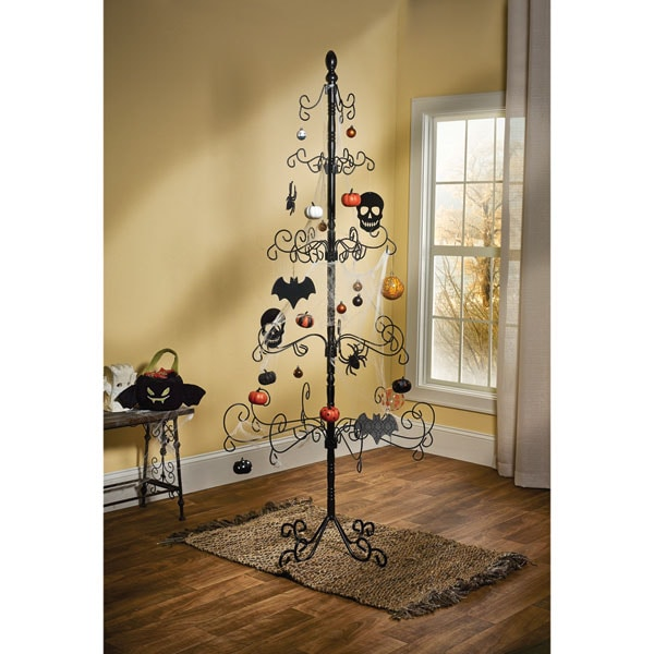 Metal Christmas Tree.Wrought Iron Ornament Christmas Tree