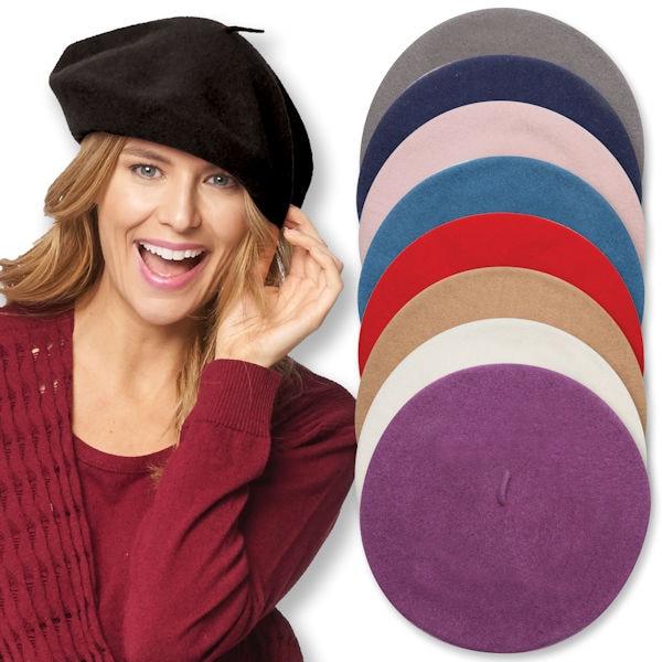 60be4d79569 100% Wool Basque Beret