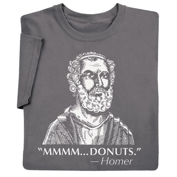 d66b263c Famous Quotes T-shirt - Homer   4 Reviews   4.5 Stars   Signals   HX2342